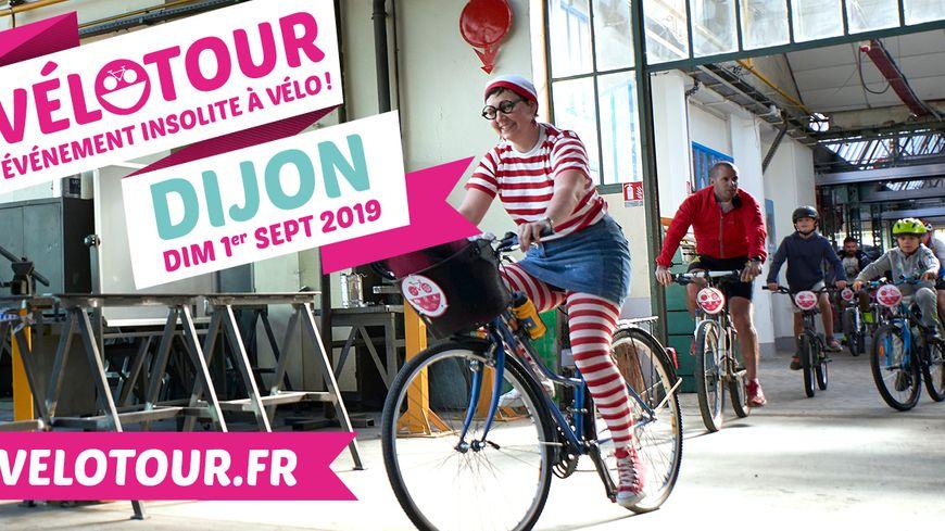 La 14ème édition du vélotour Dijon a lieu le 1er septembre 2019