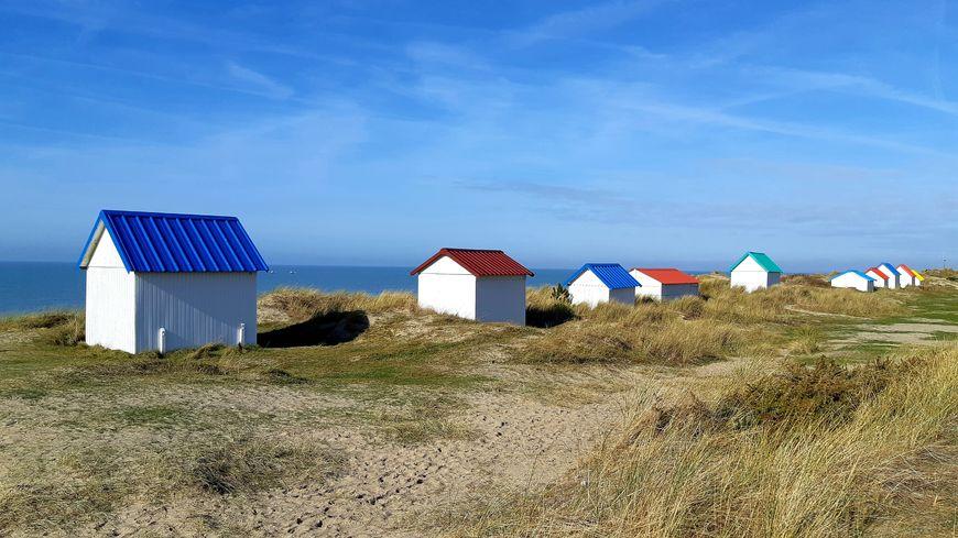 Pour trouver le frais en Normandie, le littoral n'est pas la seule solution (ici, Gouville sur Mer dans la Manche).