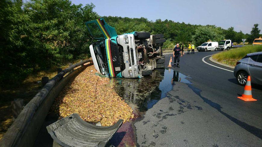 Le camion transportait des viscères
