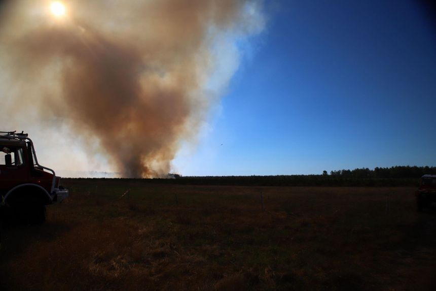 Le feu a débuté à 14h30, c'est un habitant qui a prévenu les pompiers