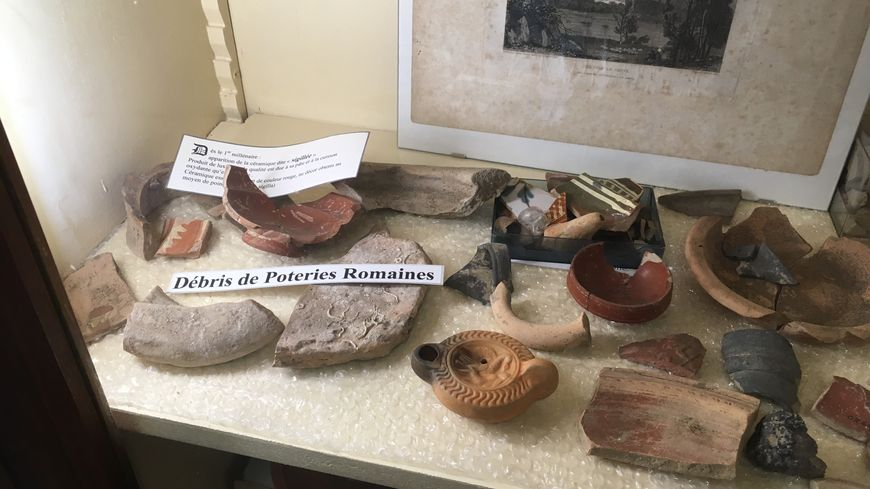 Vestiges de l'antiquité découverts dans la région.
