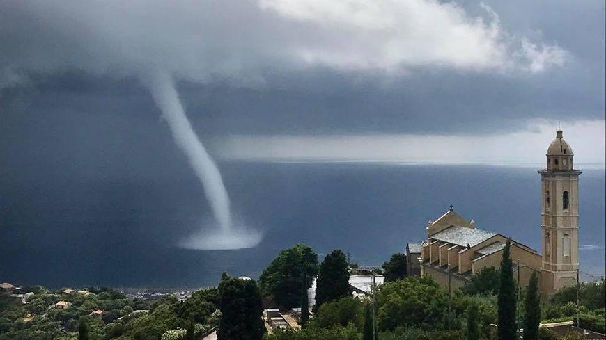 La trombe marine a provoqué de nombreux dégâts dans la région bastiaise