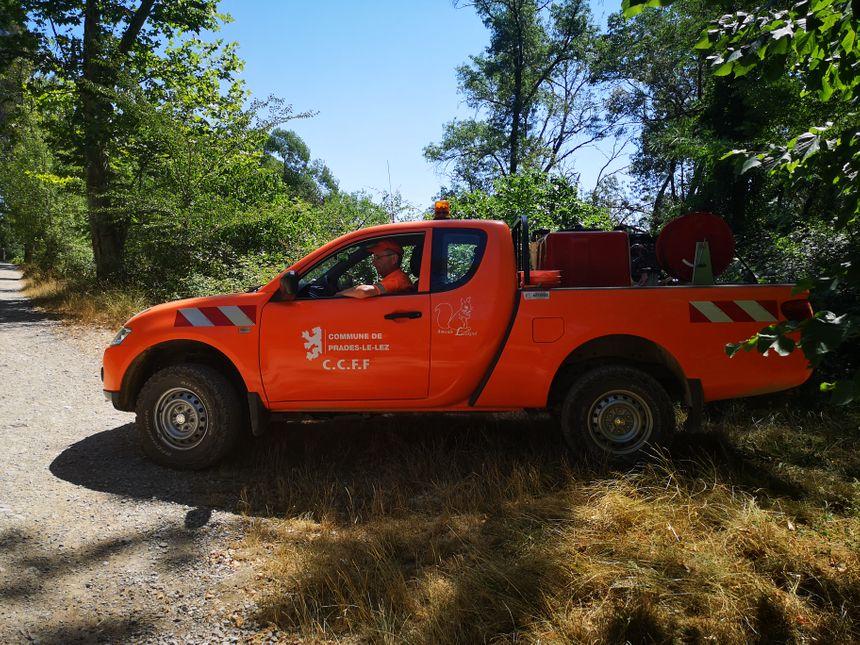 Les sentiers forestiers sont tous inspectés par les bénévoles du CCFF de Prades-le-Lez (Hérault)