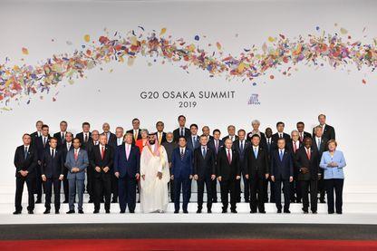 Les membres du G20 à Osaka