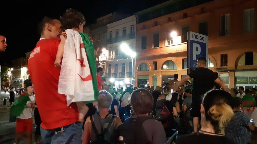 5.000 personnes comptabilisées par la préfecture à Toulouse pour célèbrer la victoire de l'Algérie à la CAN.