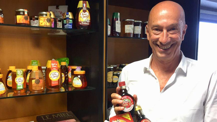 """Vincent Michaud, le PDG du groupe """"Famille Michaud Apiculteurs"""" veut profiter du CETA pour conquérir le marché du sirop d'érable."""