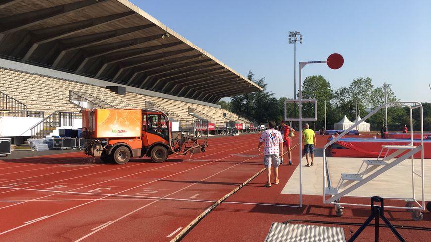 Le stade Henri Lux de Saint-Étienne