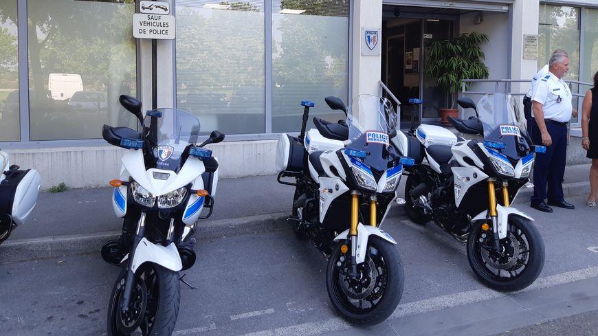La police municipale se dote de deux nouvelles motos