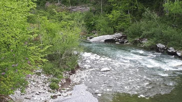 La rivière le Fier à Lovagny