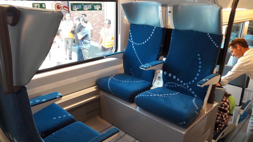 La région Occitanie a acheté 18 rames Regio2N, des trains pouvant transporter jusqu'à 500 voyageurs
