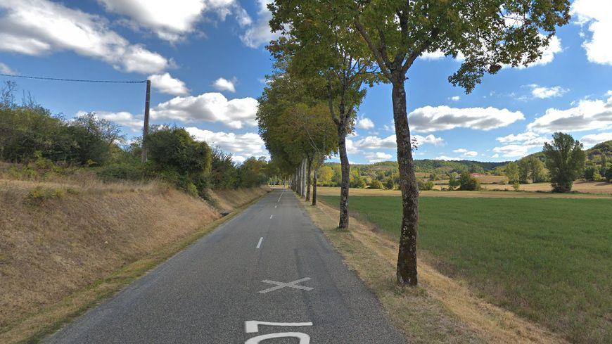 L'accident a eu lieu sur la D7 entre Montaigu et Roquecor.