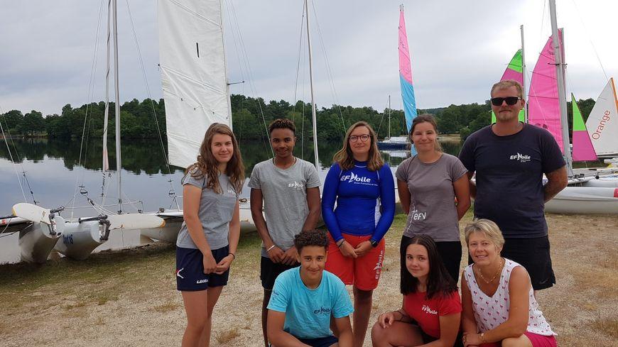 l'équipe du Nautic Club Limousin