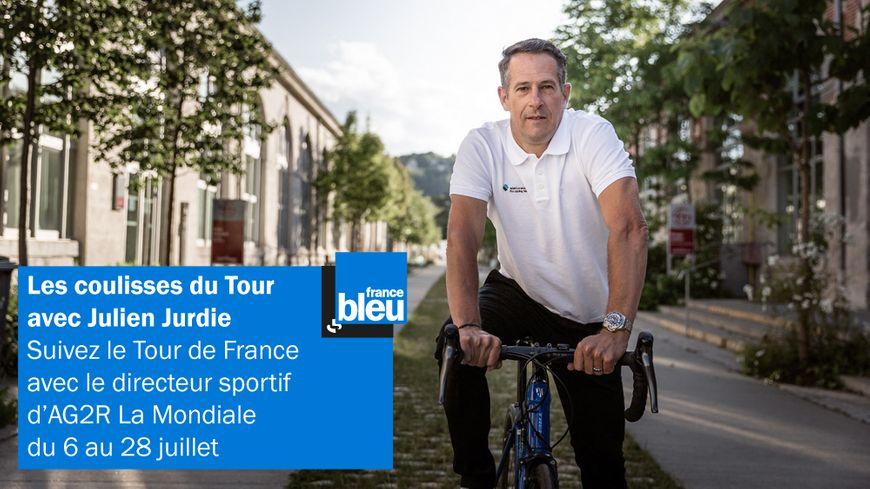 Julien Jurdie, directeur sportif de l'équipe cycliste AG2R La Mondiale analyse les étapes du Tour 2019