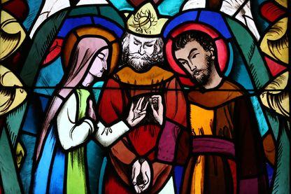 Vitraux de la Basilique Saint Joseph des fins à Annecy