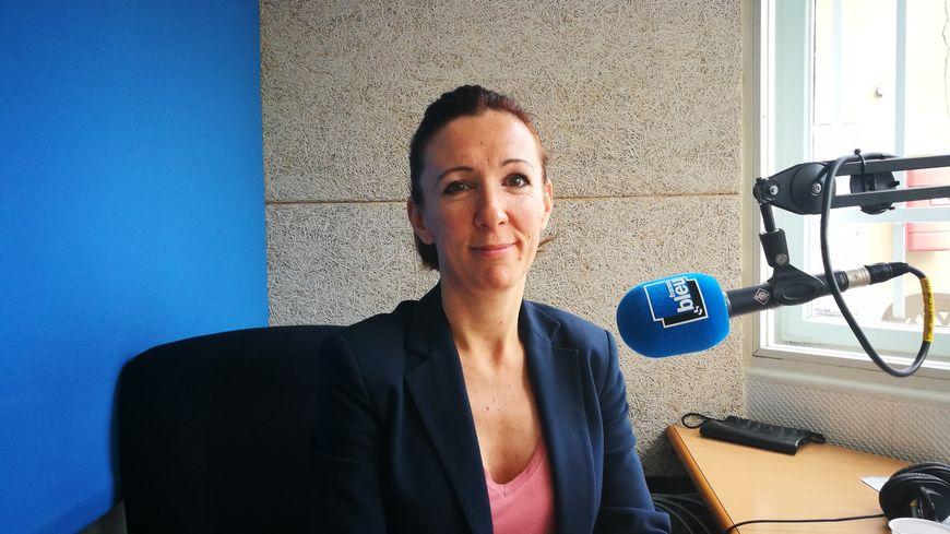 Sandrine Lacroix, présidente de l'association Une main pour un espoir