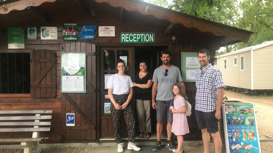 Le camping des Acacias enchaîne les arrivées et les départs depuis mi juillet
