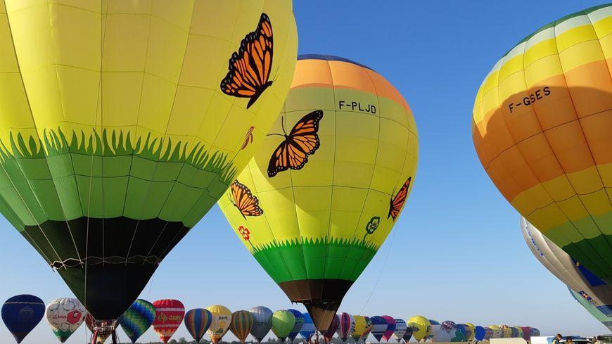 En ligne ce 29 juillet,  456 montgolfières l'équivalent de 2017 à Chambley