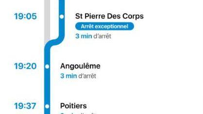 Voilà la nouvelle géographie de notre région selon la SNCF
