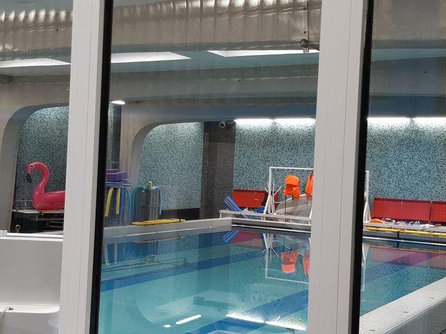 Espace de balnéothérapie à la Maison des Invalides
