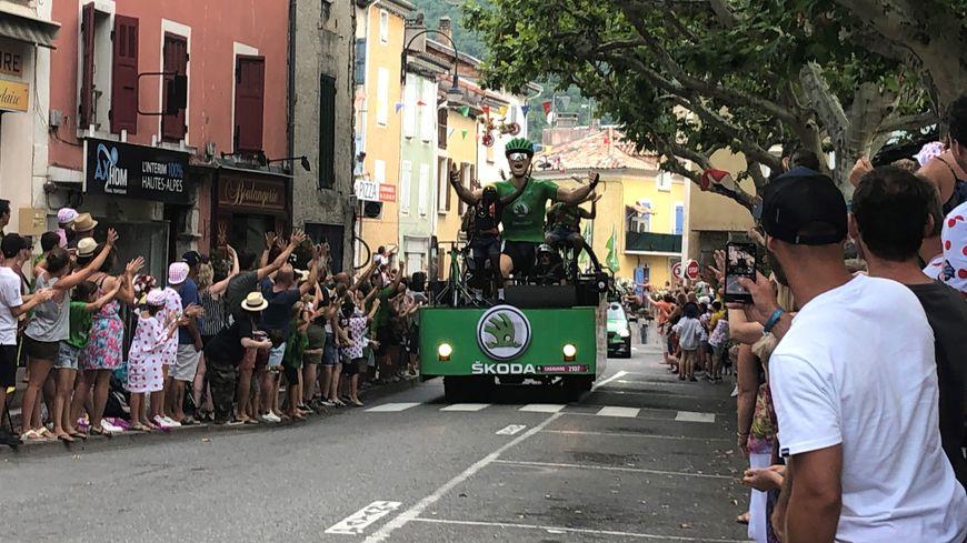 La caravane a fait des heureux à Laragne-Montéglin