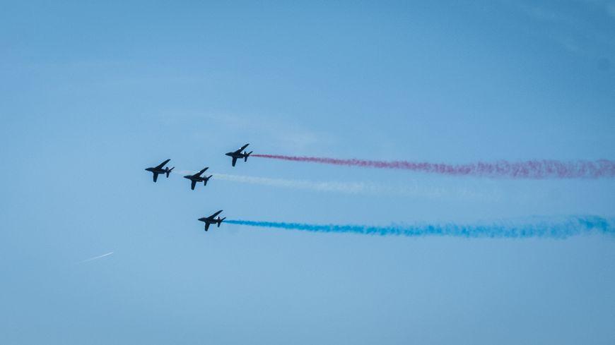 La Patrouille de France volera bien au-dessus du pays Granvillais dimanche 4 août.