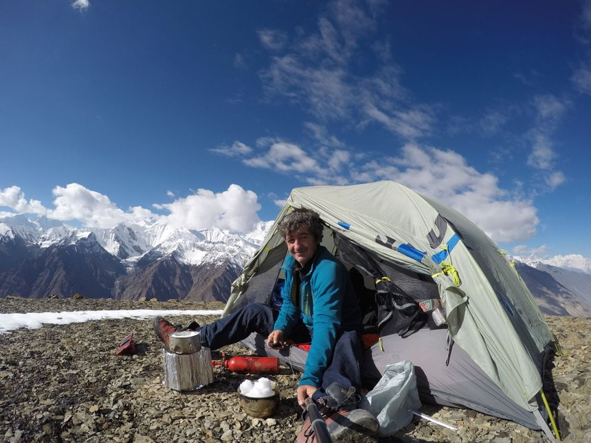 Jean-Yves Fredriksen en Himalaya
