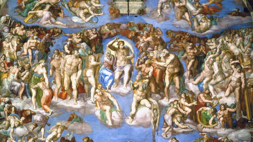 """1541 : le """"Jugement dernier"""" de Michel-Ange, une œuvre digne d'un bordel ?"""
