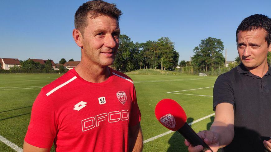 Stéphane Jobard, le nouvel entraîneur du DFCO.