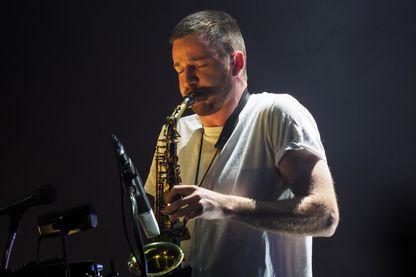 Le musicien et compositeur de musique électronique, Thylacine au Printemps de Bourges le 20 avril 2019.
