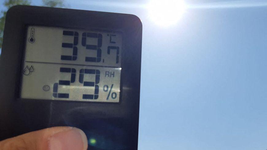 Les températures battent des records pour un mois de juillet à Valence dans la Drôme.