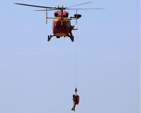 La baigneuse a du être transportée à l'hôpital de la Rochelle.