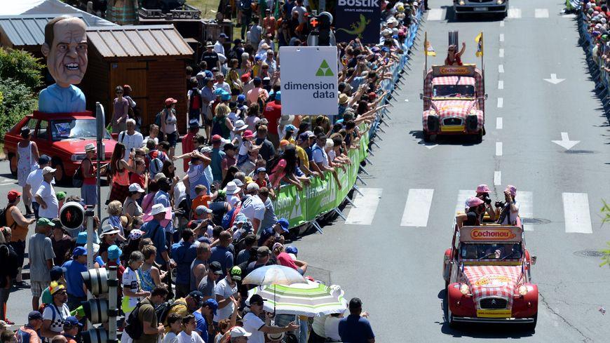 La caravane publicitaire du Tour de France compte cette année 160 véhicules