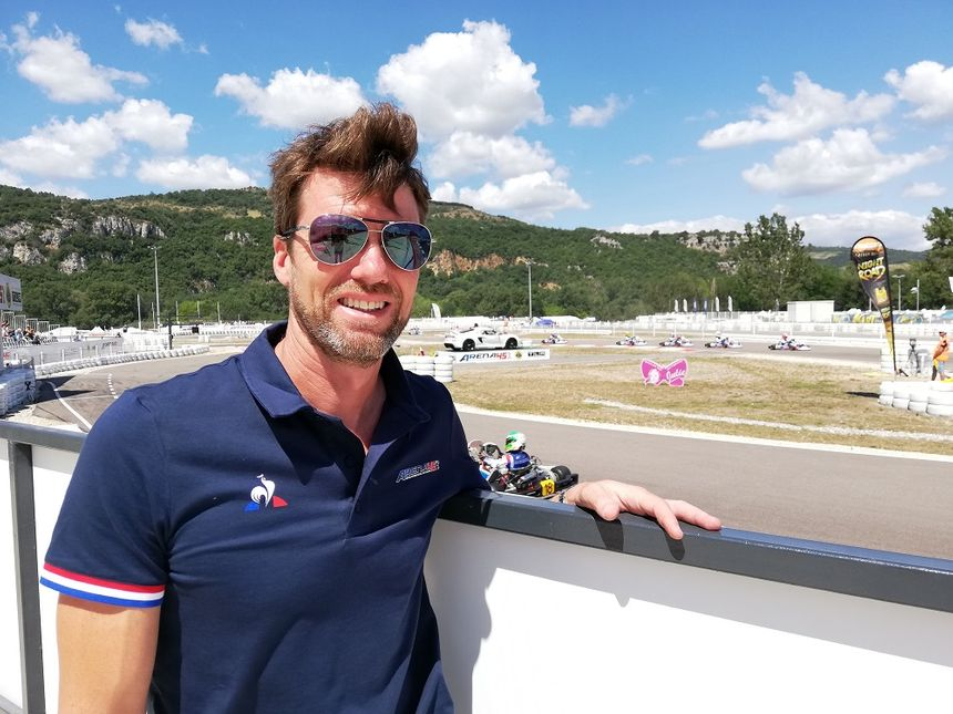Didier André a été champion de France de karting quatre fois