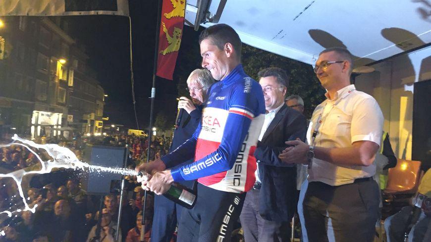 Warren Barguil remporte le Critérium de Lisieux ce mardi 30 juillet 2019.
