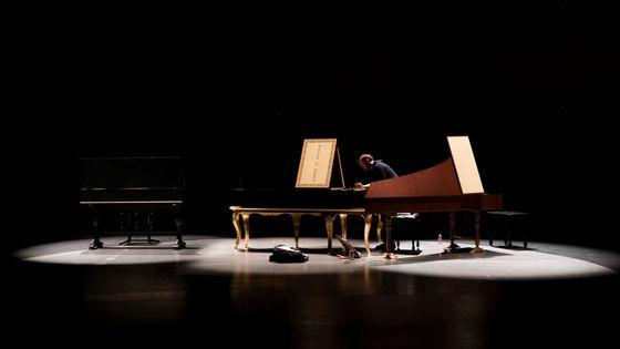 Aujourd'hui, Bertrand Cuiller interprète les sonates K. 368 et 369 de Domenico Scarlatti
