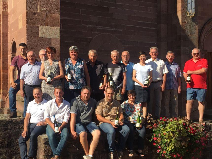 Les 14 vignerons participants