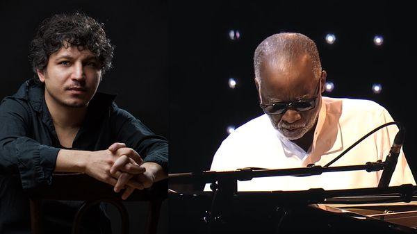 En direct et en public de Jazz in Marciac : Ahmad Jamal et Shahin Novrasli