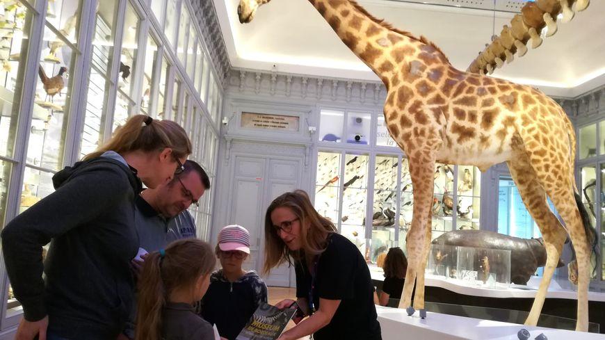 Cette famille de Girondins a visité le Muséum mardi 30 juillet pour la première fois.