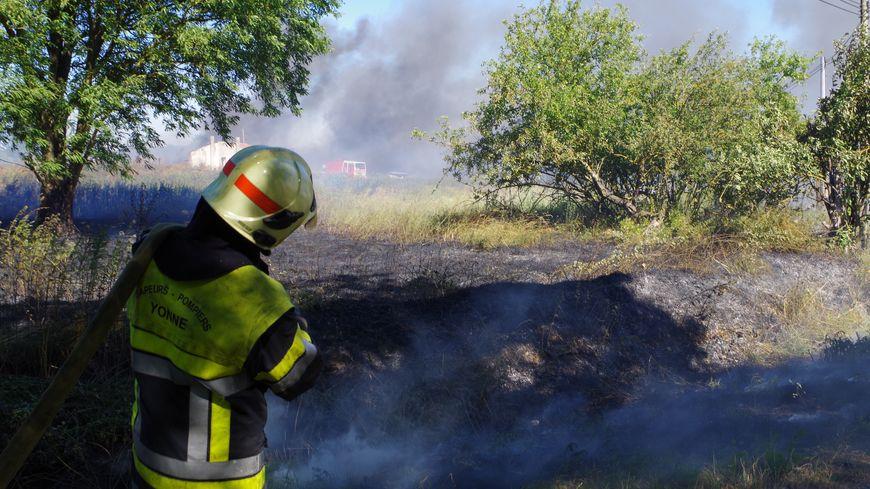 intervention des pompiers de l'Yonne