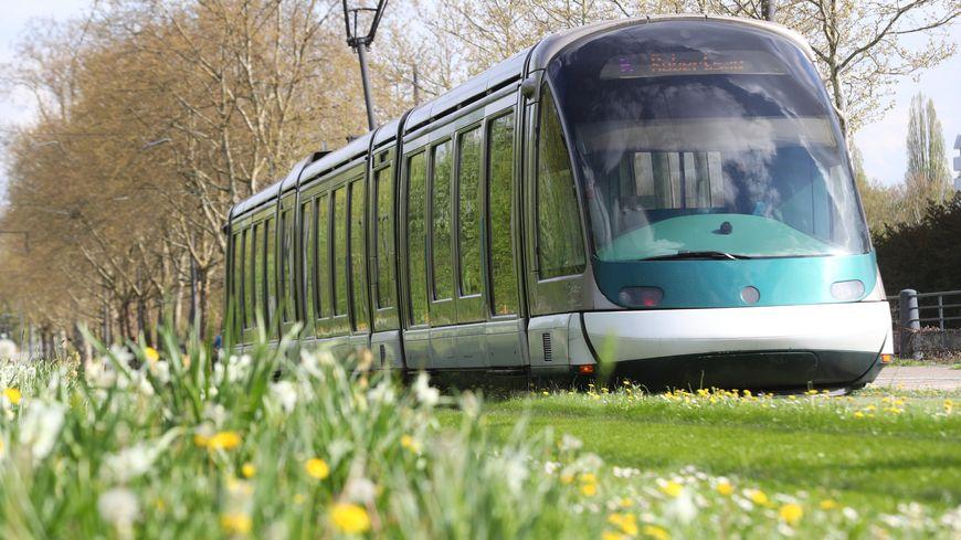 Une personne renversée par un tram ce samedi 27 juillet 2019 à Strasbourg. Elle est décédée