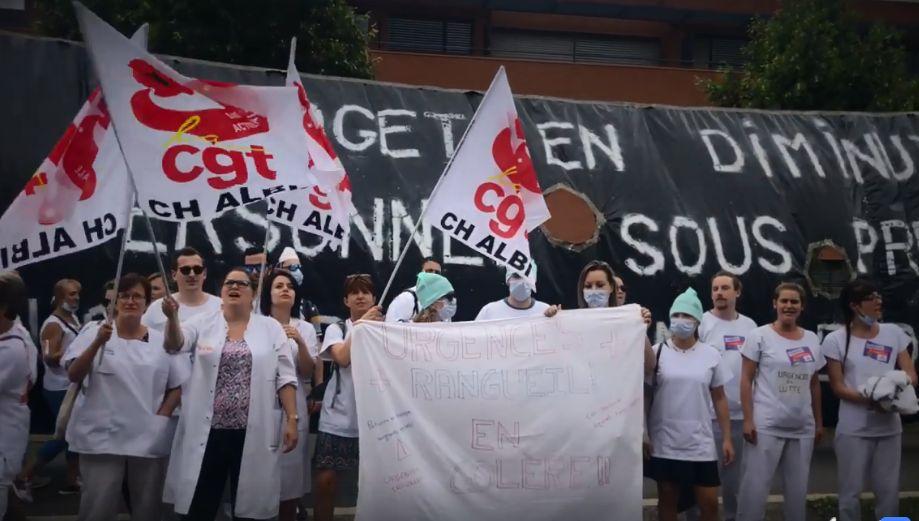 [VIDEO] - A Toulouse, des blouses blanches reprennent Bigflo & Oli pour dénoncer des suppressions de lits au CHU