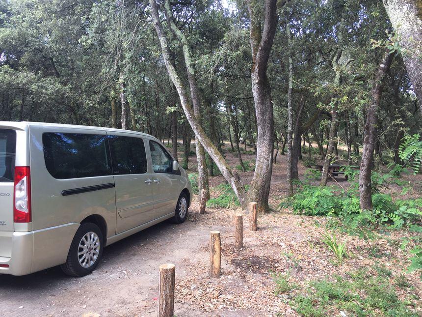 Les parkings sont une étape importante de la ronde de l'ONF.