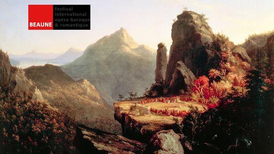 Peinture  de Thomas Cole (détail)