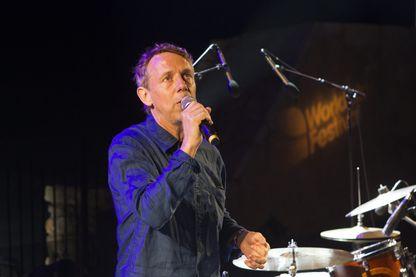 Gilles Peterson au theatre de la mer pendant le Worldwide festival 2018