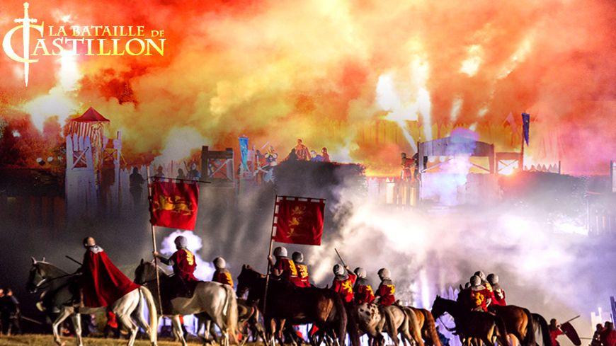 1453, les troupes anglaises et françaises s'affrontent