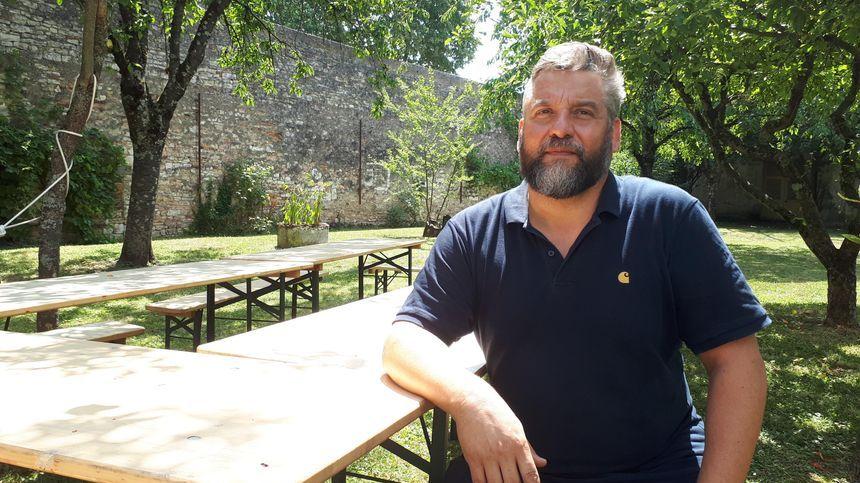 Pierre Duforeau, directeur artistique de Chalon dans la rue. /Photo d'archive