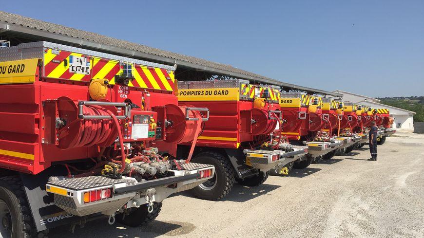 Les sapeurs-pompiers du Gard sont mobilisés pour la prévention des feux de forêts
