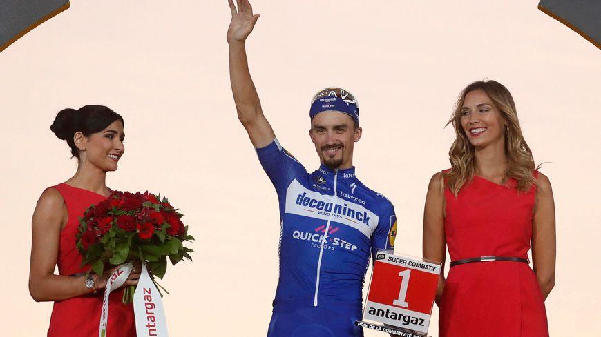 Julian Alaphilippe lors du Tour de France