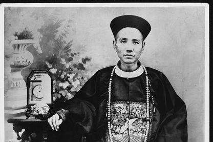 Portrait d'un mandarin chinois
