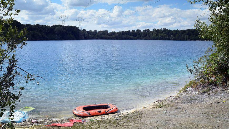 Le lac des Ciments à Beaumont sur Oise